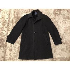Pendleton Gray Wool Coat Size 38